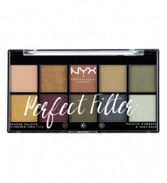 NYX PROFESSIONAL MAKEUP Палетка теней Perfect Filter Shadow Palette - Olive You 03