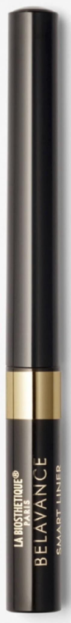 LA BIOSTHETIQUE Подводка водостойкая с фетровой кисточкой, черная / Smart Liner Just Black 1,7 мл