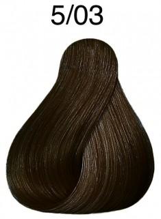 WELLA PROFESSIONALS 5/03 краска для волос, светло-коричневый натуральный золотистый / Color Touch 60 мл