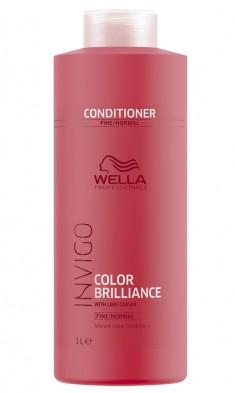 Wella Invigo Color Brilliance Бальзам-уход для защиты цвета окрашенных нормальных и тонких волос 1000мл