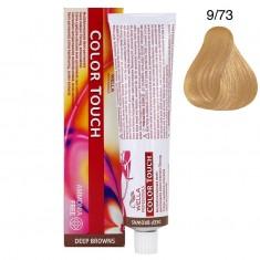 Wella Color Touch Тонирующая крем-краска без аммиака 9/73 очень светлый блонд коричнево-золотистый 60мл