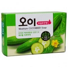 мыло огуречное mukunghwa moisture cucumber soap