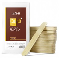 RUNAIL Шпатели деревянные / Cardi 100 шт
