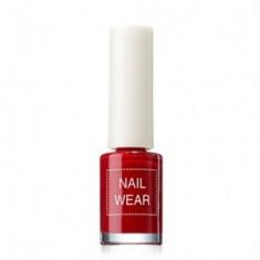 Лак для ногтей The Saem Nail Wear 06_fashionking red 7мл