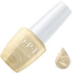 Opi, gelcolor, гель-лак, gift of gold never gets old, 15 мл