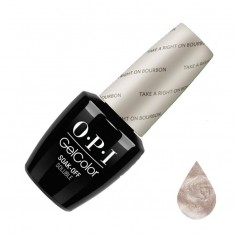 Opi, gelcolor, гель-лак, take a right on bourbon, 15 мл