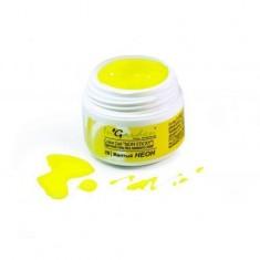 Ingarden, гель-краска без липкого слоя, 028, желтый неон, 5 г In Garden
