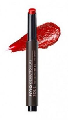 Помада для губ THE SAEM Eco Soul Kiss Button Lips 11 Red siren 2г