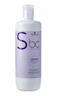 Шампунь мицеллярный кератиновый Schwarzkopf Professional BC Keratin Smooth Perfect 1000 мл