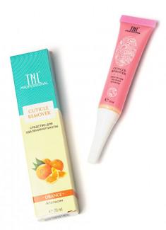 TNL PROFESSIONAL Средство для удаления кутикулы, апельсин 20 мл