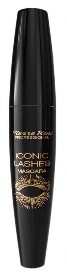 PIERRE RENE Тушь с эффектом накладных ресниц, черная / Mascara Iconic 15 мл PIERRE RENE PROFESSIONAL