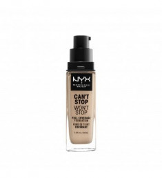 NYX PROFESSIONAL MAKEUP Тональная основа Can't Stop Won't Stop Full Coverage Foundation - Alabaster 2