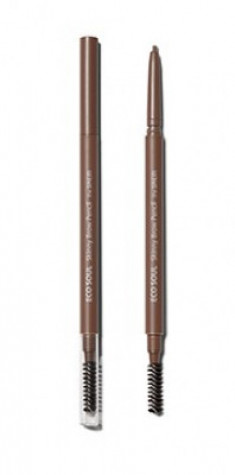 Карандаш для бровей Eco Soul Skinny Brow Pencil 01 Natural Brown The Saem