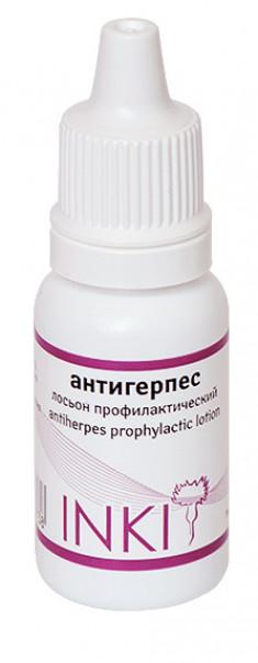 INKI Лосьон профилактический Антигерпес / аntiherpes prophylactic lotion 15 мл
