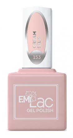 E.MI 153 WEC гель-лак для ногтей, Кремовый шелк / E.MiLac 9 мл