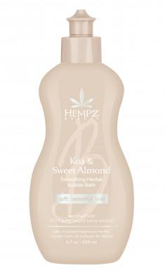 HEMPZ Пена для ванны Коа и Сладкий Миндаль / Koa & Sweet Almond smoothing herbal Moisturizer 198 мл