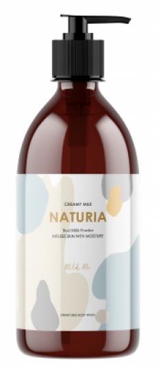 Гель для душа ЗЕЛЕНЫЙ ЧАЙ EVAS NATURIA Creamy Milk Body Wash Green tea 750 мл