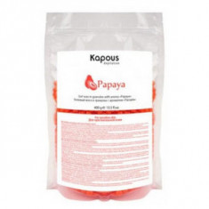 Гелевый воск с ароматом «Папайя» в гранулах, 400 г (Kapous Professional)