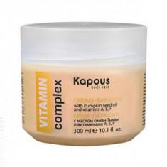 Крем-парафин «VITAMIN complex» с маслом семян Тыквы и витаминами A, E, F, 300 мл (Kapous Professional)