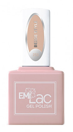 E.MI 252 гель-лак для ногтей / E.MiLac Beige Style 6 мл