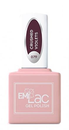 E.MI 079 RT гель-лак для ногтей, Сухие фиалки / E.MiLac 6 мл