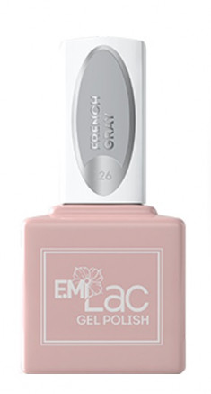 E.MI 126 TGR гель-лак для ногтей, Французский серый / E.MiLac 6 мл