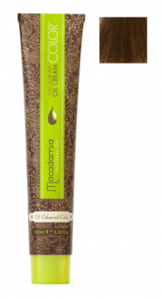 Краска для волос Macadamia Oil Cream Color 7.73 СРЕДНИЙ ШОКОЛАДНЫЙ БЛОНДИН 100мл