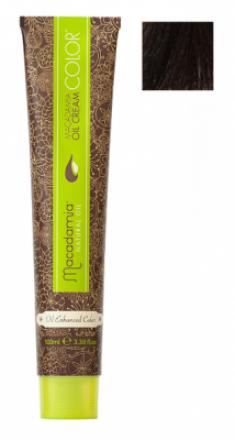 Краска для волос Macadamia Oil Cream Color 5.35 СВЕТЛЫЙ ЗОЛОТИСТЫЙ ШОКОЛАДНЫЙ КАШТАНОВЫЙ 100мл