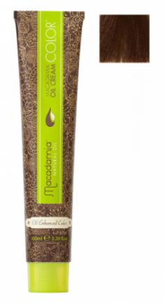 Краска для волос Macadamia Oil Cream Color 7.35 СРЕДНИЙ ЗОЛОТИСТЫЙ ШОКОЛАДНЫЙ БЛОНДИН 100мл