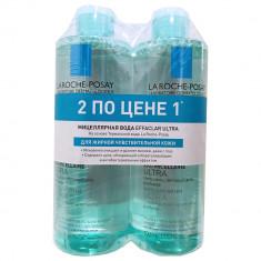 Ля Рош-Позе Эфаклар Ультра мицеллярная вода для жирной чувствительной кожи 400мл N2 дуопак La Roche-Posay